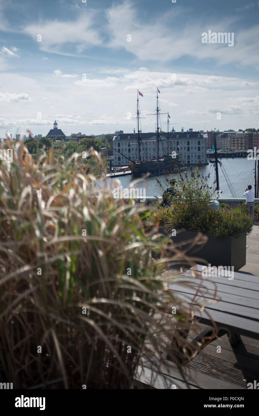La Terrazza Sul Tetto Del Nemo Science Museum Di Amsterdam