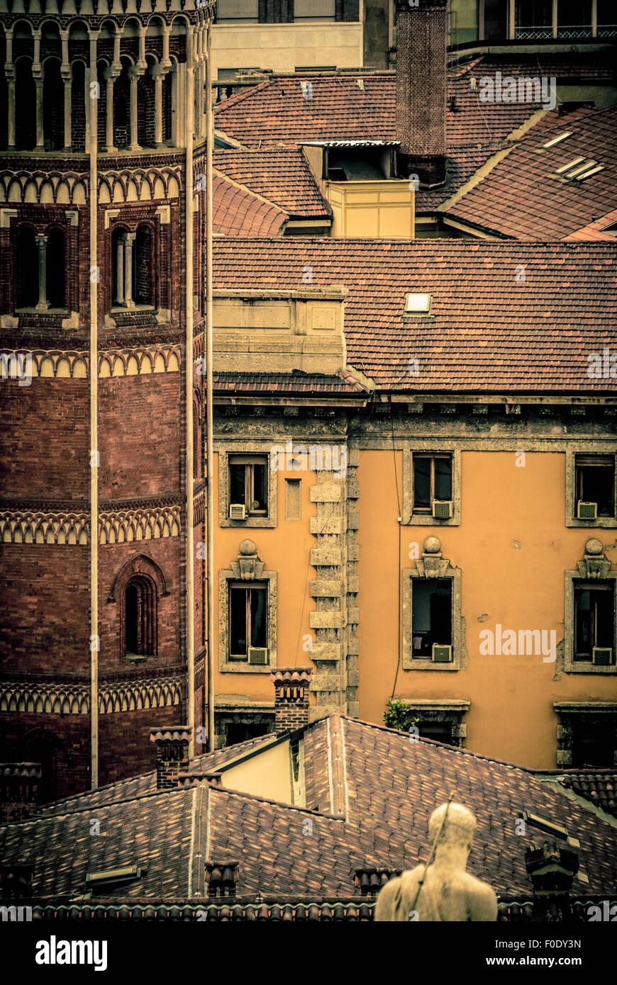 Tradizionale architettura italiana Immagini Stock