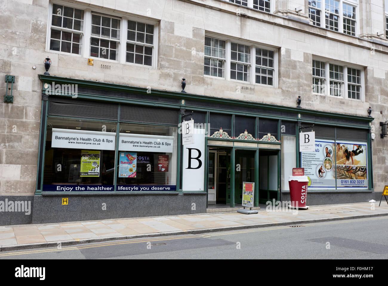 Bannatynes club salute e spa Manchester Inghilterra England Regno Unito Immagini Stock