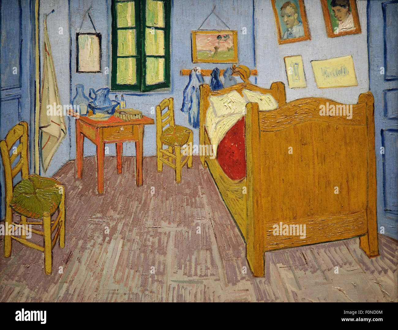 Camera da letto in arles la chambre arles simile tre dipinti di vincent van gogh 1853 1890 - Van gogh la camera da letto ...