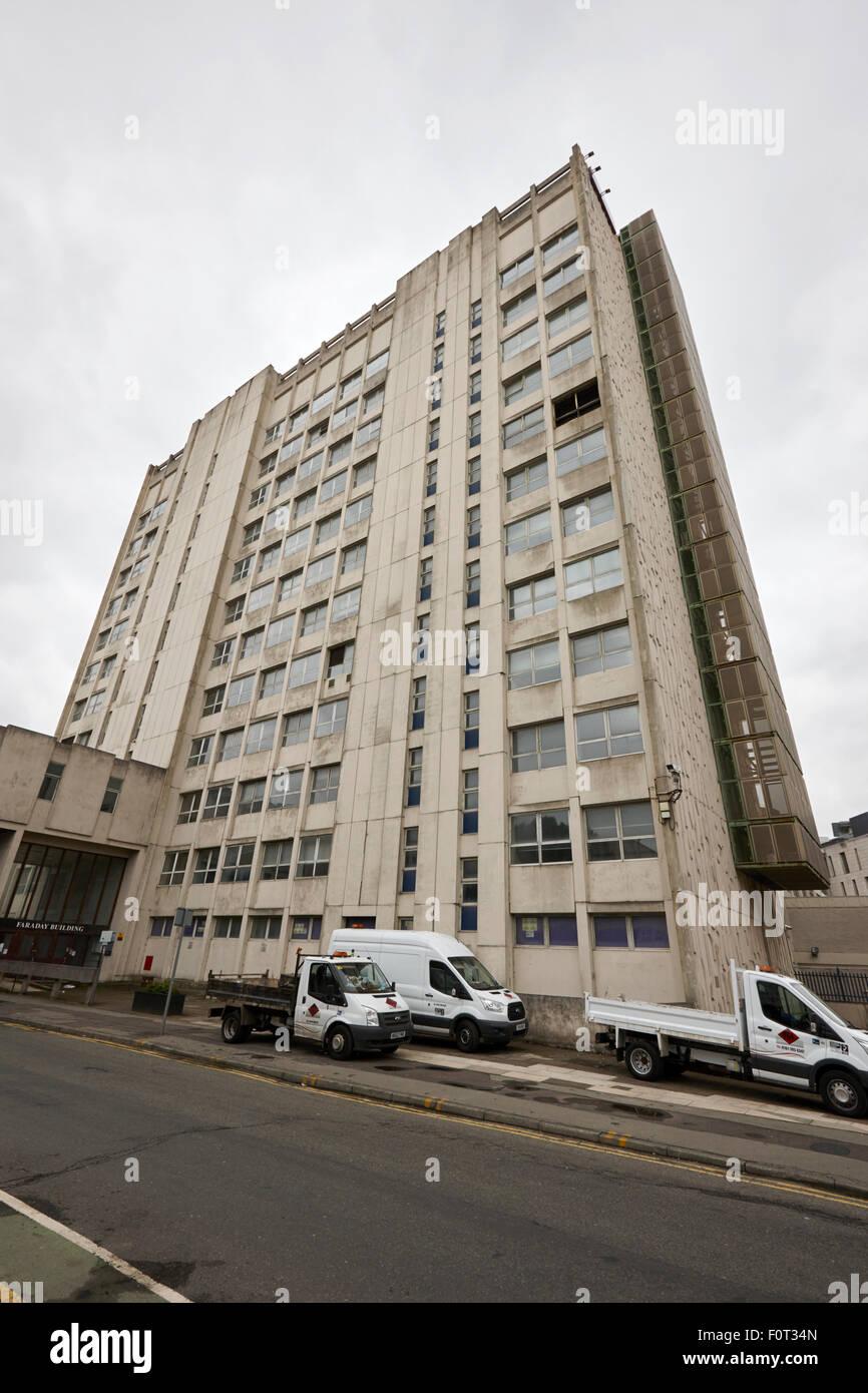 Edificio di faraday scuola di meccanica e aerospaziale ingegneria civile Università di Manchester Inghilterra Immagini Stock