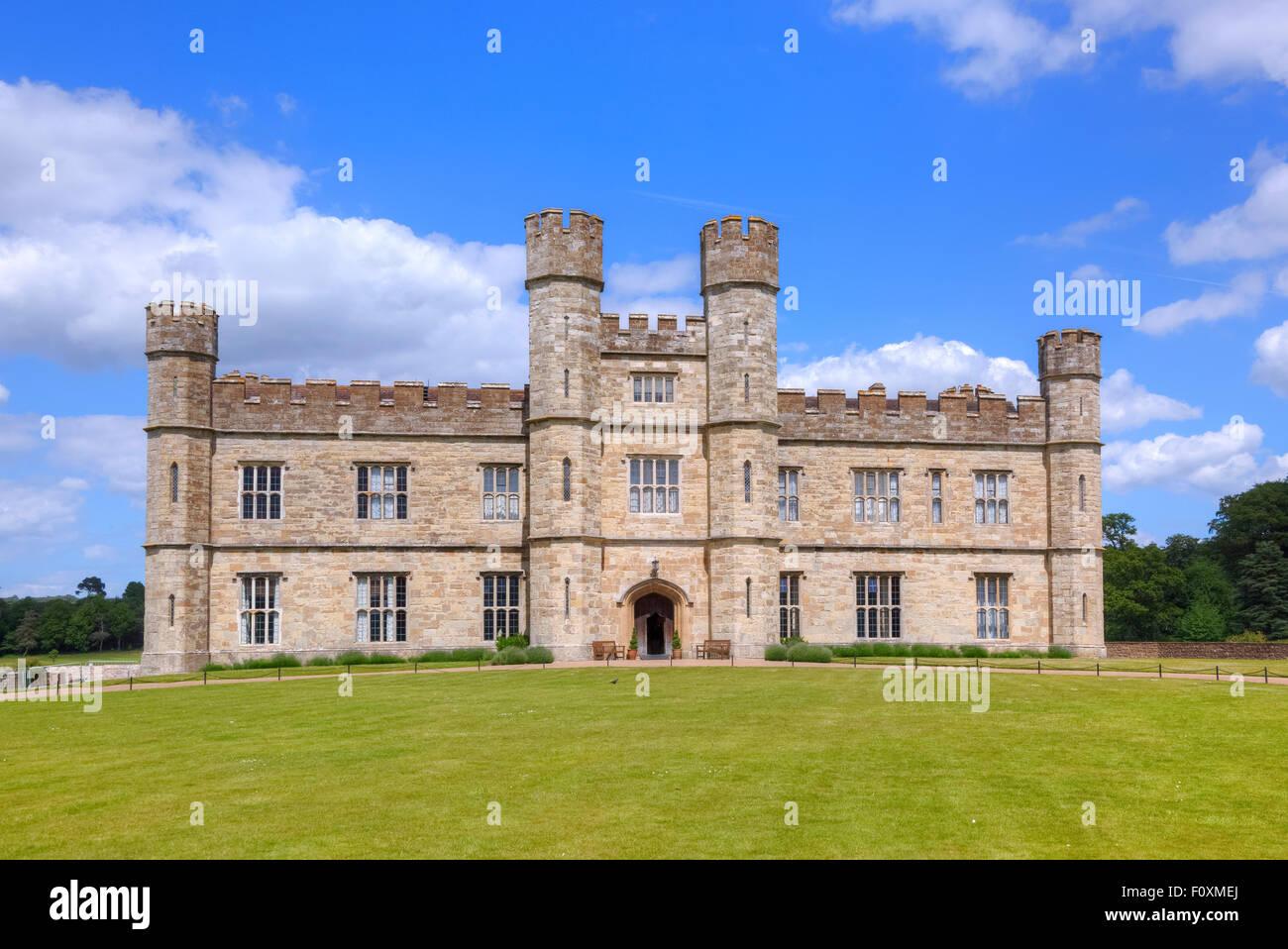 Il Castello di Leeds, Maidstone Kent, England, Regno Unito Immagini Stock