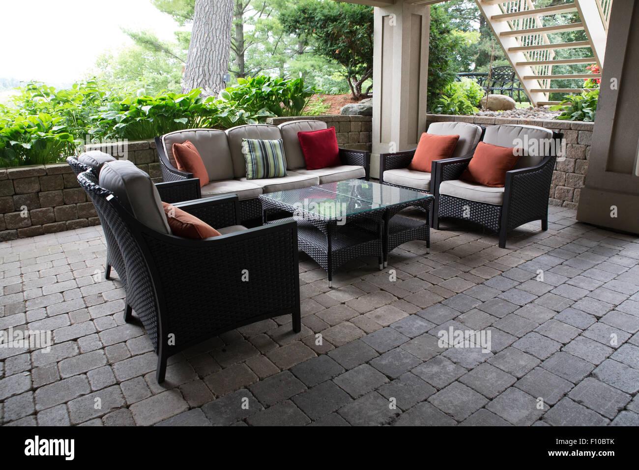 Estate mobili da giardino Immagini Stock