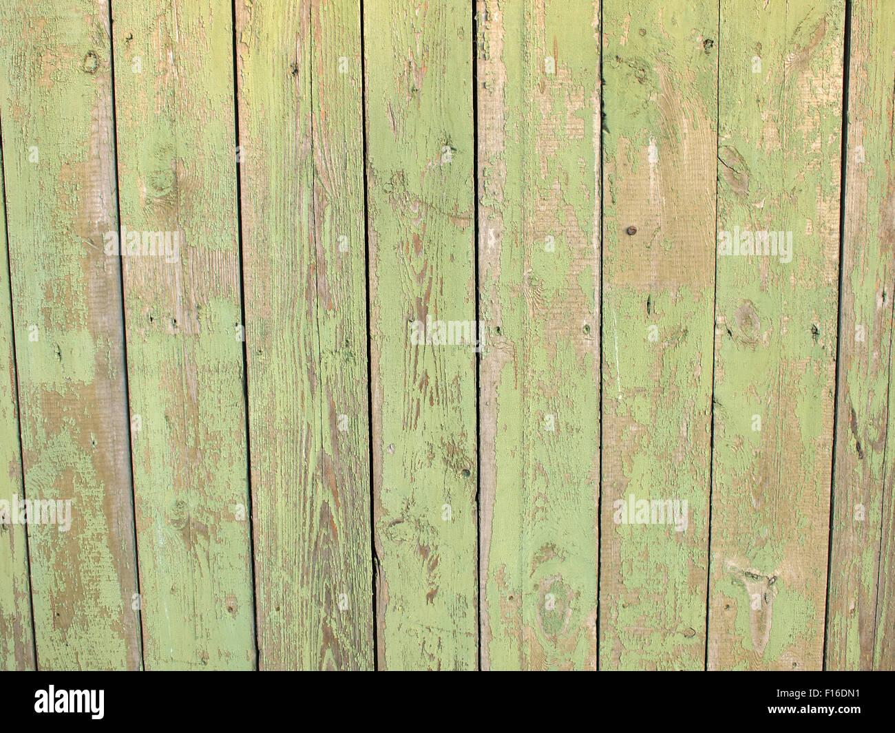 Colori Vernici Legno : Frammento di un recinto con tavole di legno closeup dipinto in