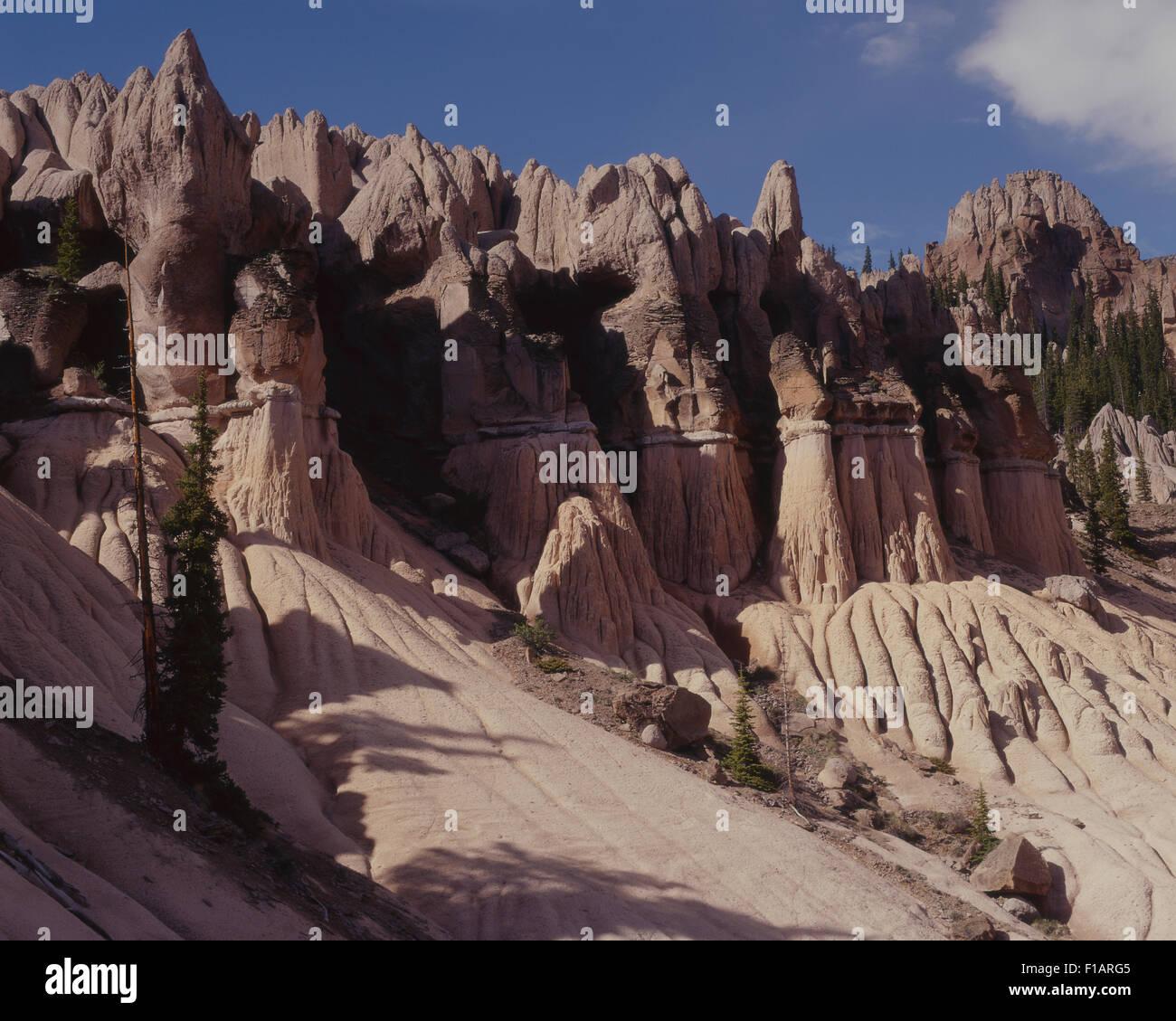 Creede Colorado Foto Stock