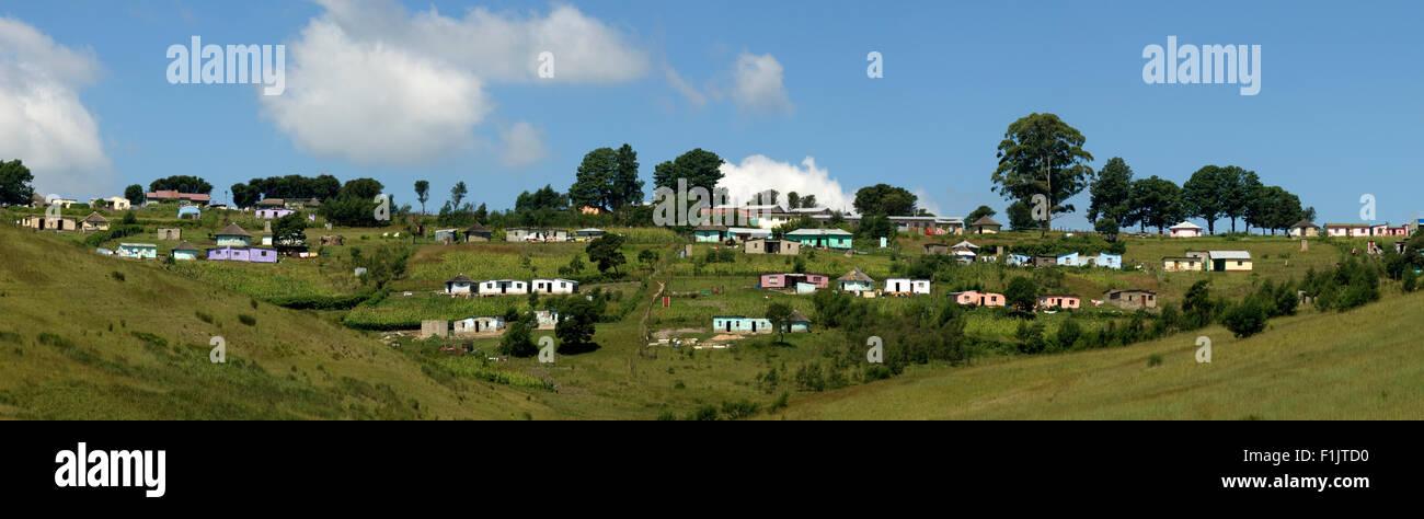 Villaggio Pondo, Port St Johns, Capo orientale, Sud Africa Immagini Stock