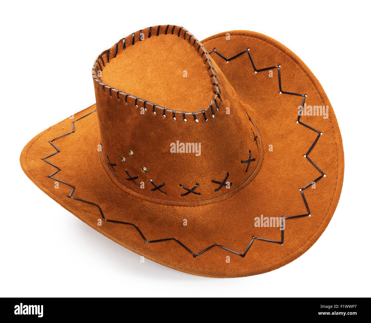 Il cappello da cowboy isolato su uno sfondo bianco. Immagini Stock 41a0c03d1c37