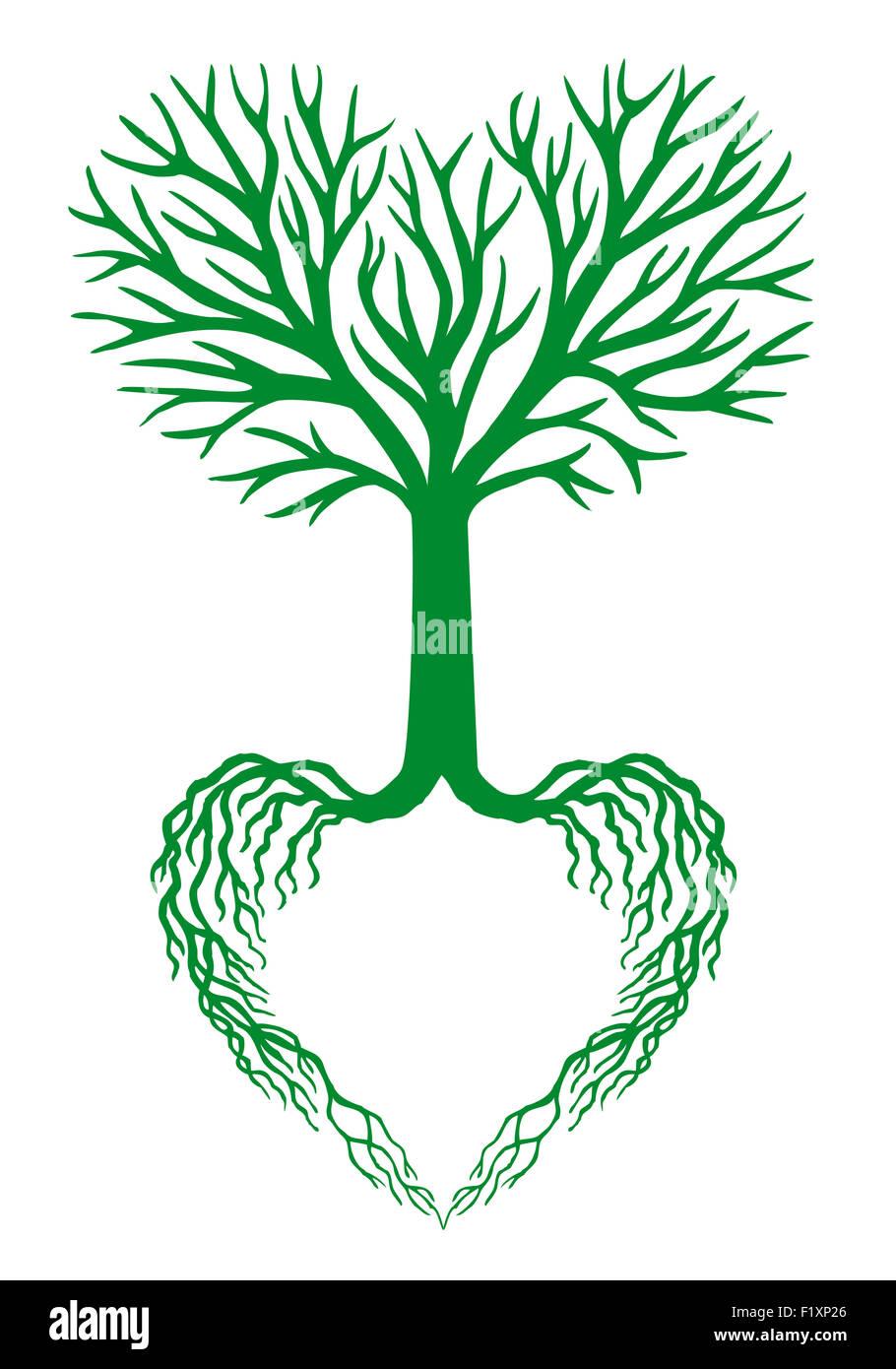 Verde Albero Della Vita Foto Immagine Stock 87254558 Alamy