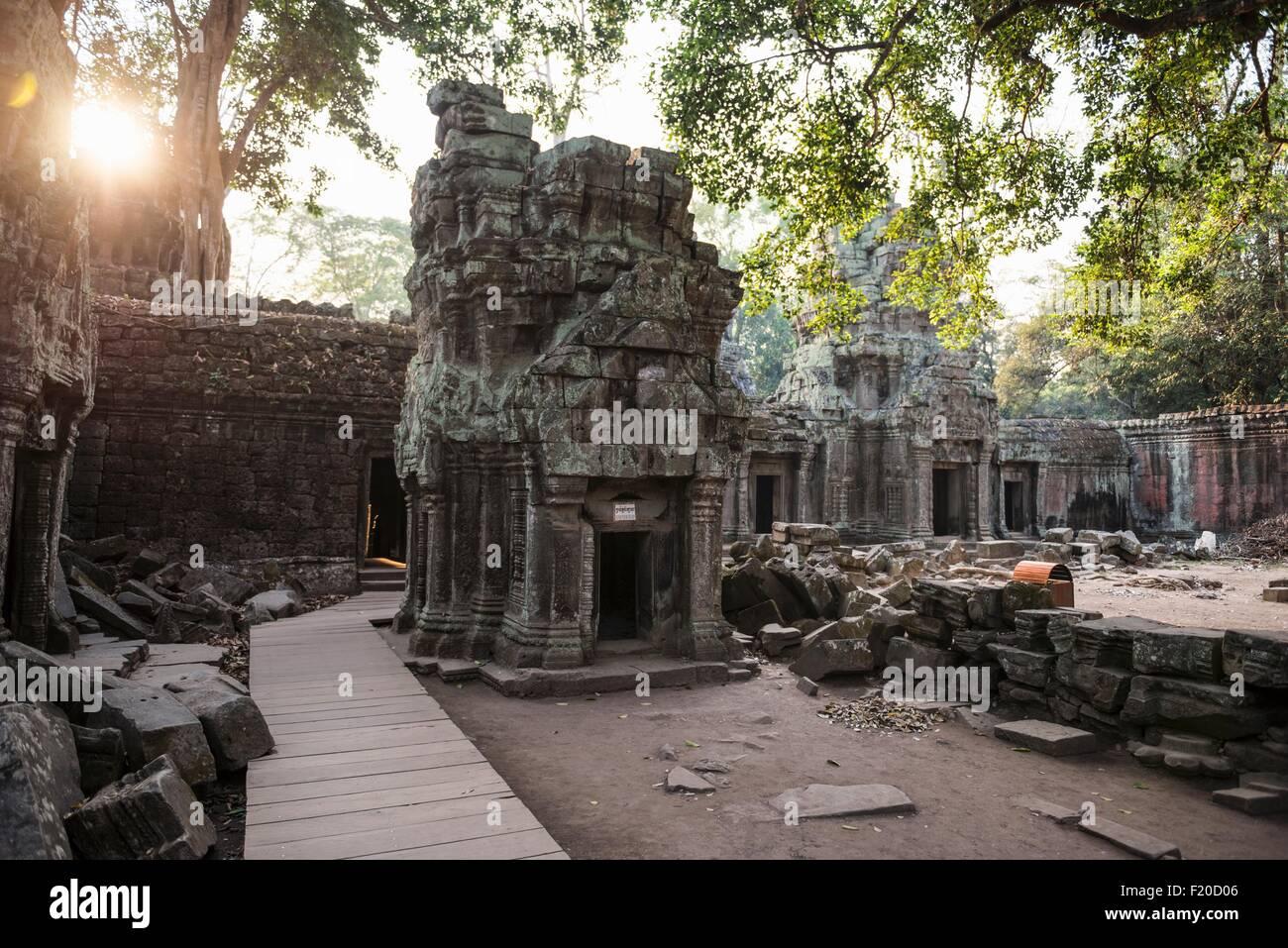 Angkor Wat, Siem Reap, Cambogia Immagini Stock