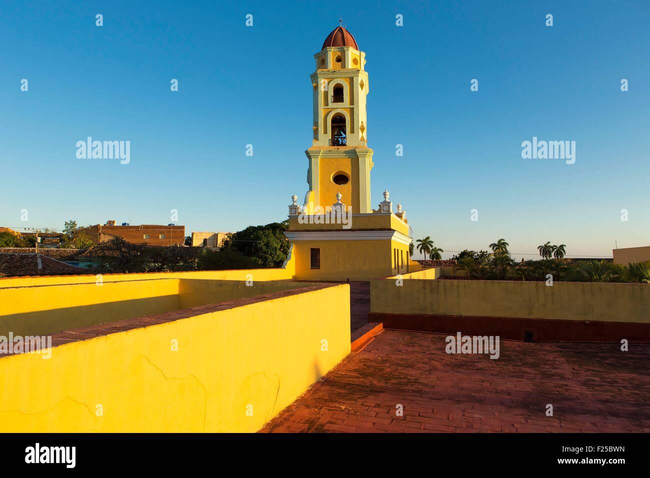 Cuba, Sancti Spiritus Provincia, Trinidad de Cuba elencati come patrimonio mondiale dall' UNESCO, San Francisco Immagini Stock