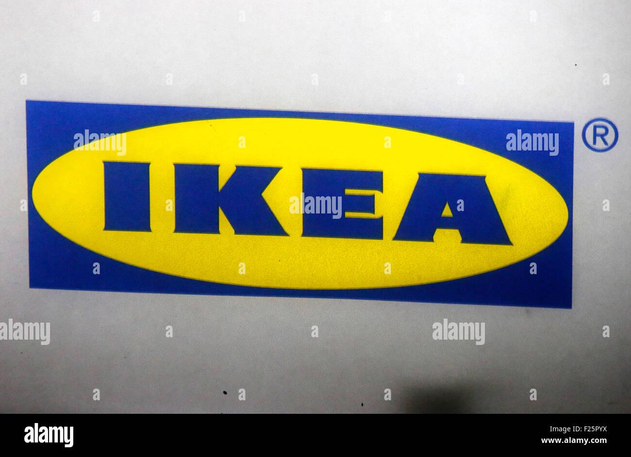 "Markennamen: ""Ikea"", Berlino. Immagini Stock"
