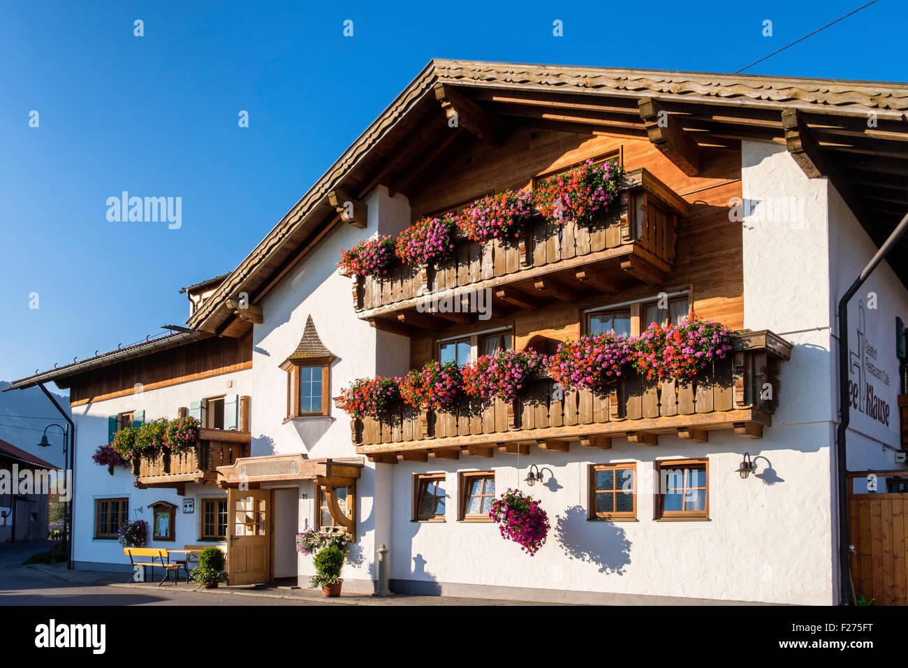 Fioriere Per Persiane ~ Seeklause guest house hoilday alloggio in tipica casa bavarese con
