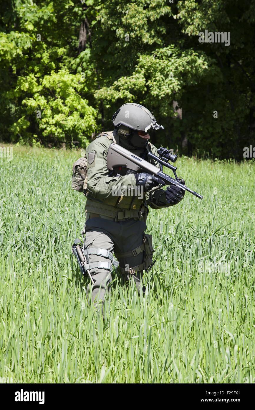 Jagdkommando austriaco forze speciali Foto & Immagine Stock