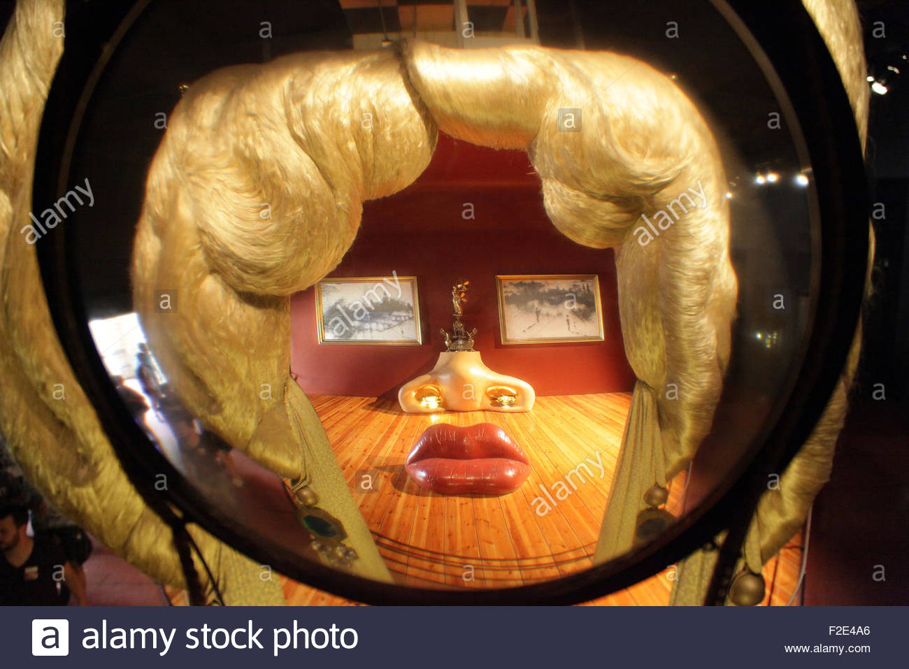 Divano Labbra Di Mae West.Mae West Room Immagini Mae West Room Fotos Stock Alamy