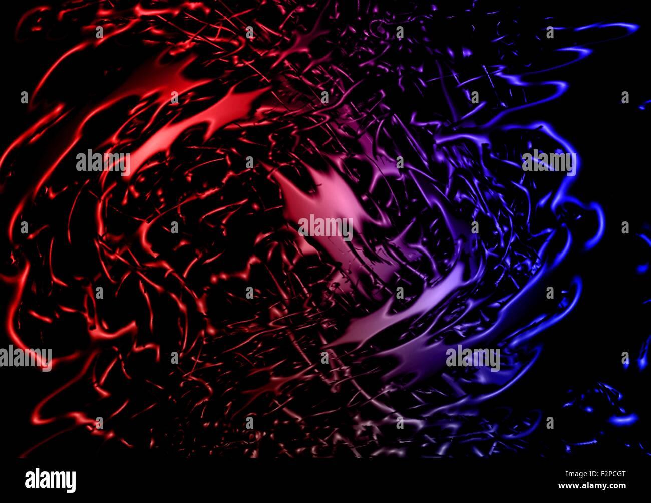 Immagine Di Astratta Splash Colorato 3d Sfondo Carta Da Parati