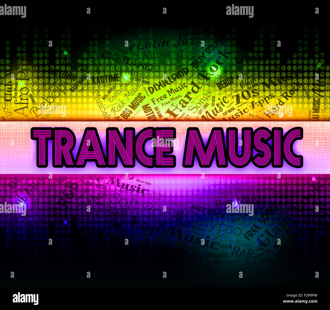 La musica trance significato tracce audio e colonna sonora