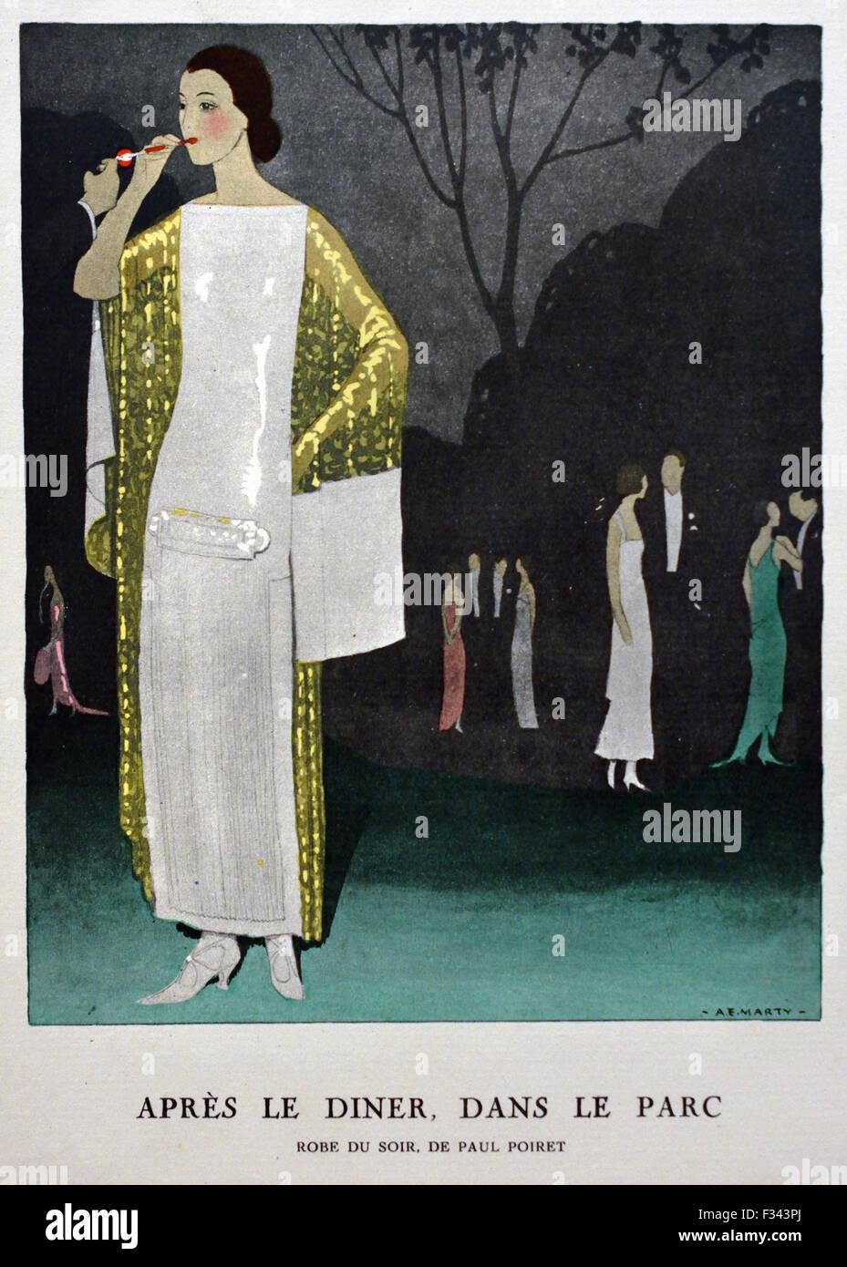Abiti Da Sera 1912.Gazette Du Bon Ton Arte Modi Frivolites Abito Da Sera 1912