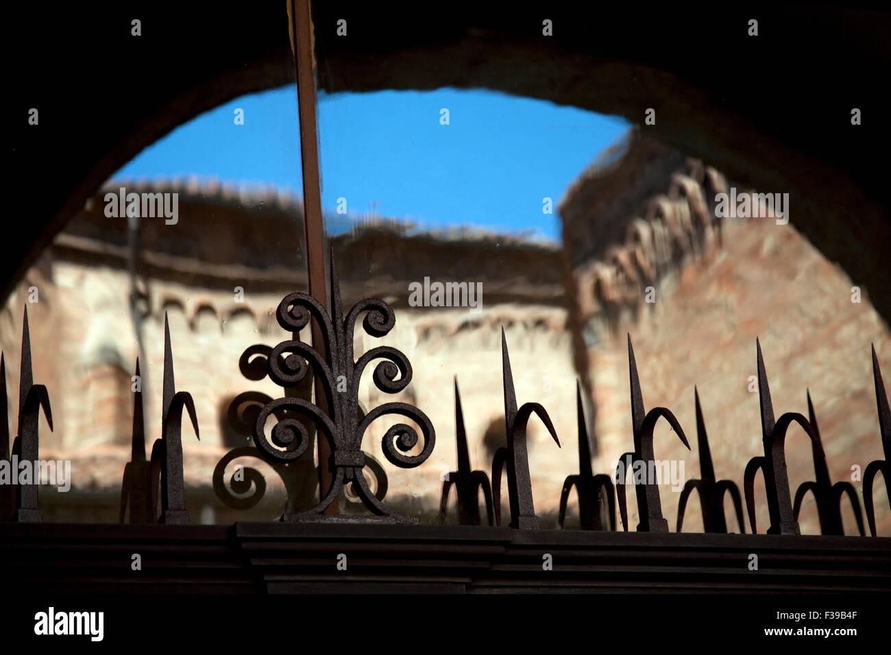 Le Sette Chiese - Sette Chiese - di Piazza Santo Stefano Bologna Italia Immagini Stock