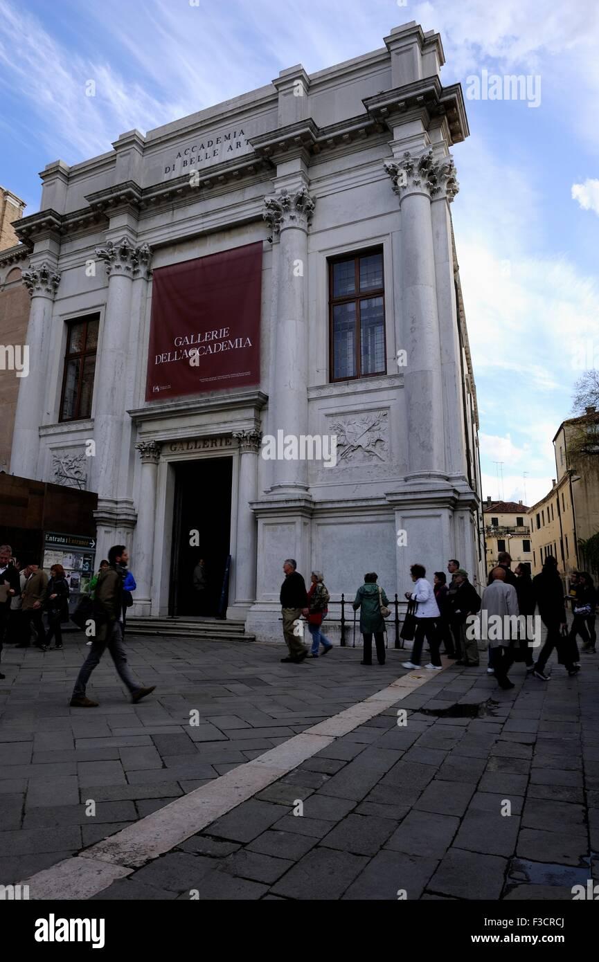 Accademia di belle arti fu fondata nel 1750 dal pittore Giovanni battista piazzetta e ora l'accademia ha la Immagini Stock