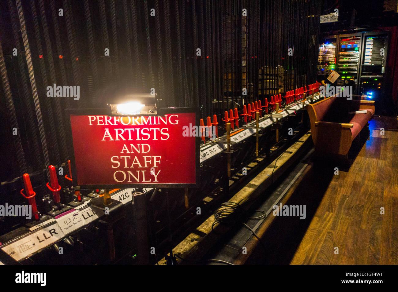 Il Grand Ole Opry a Nashville Tennessee Immagini Stock
