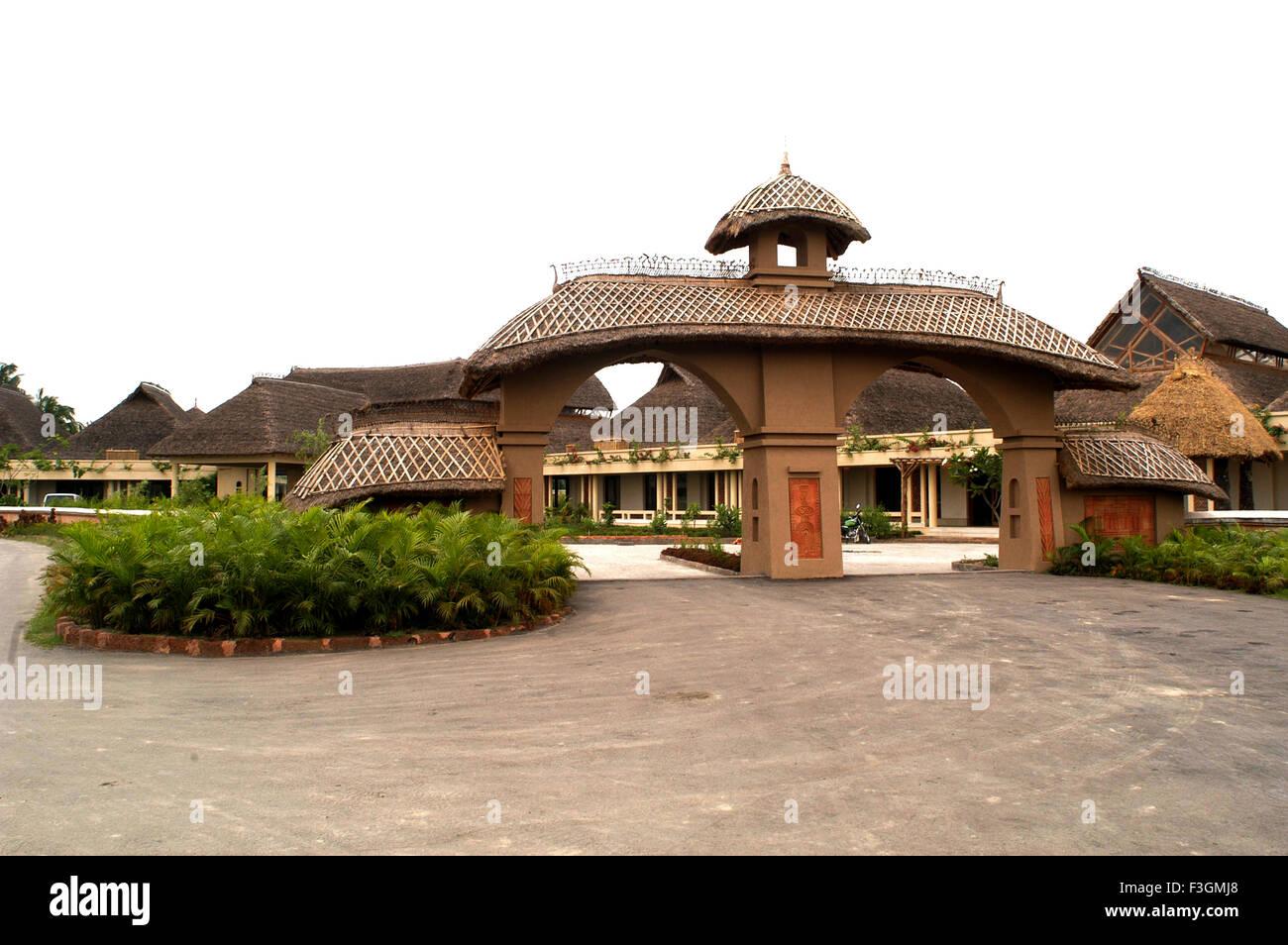 Villaggio vedico in Kolkata ; India Immagini Stock