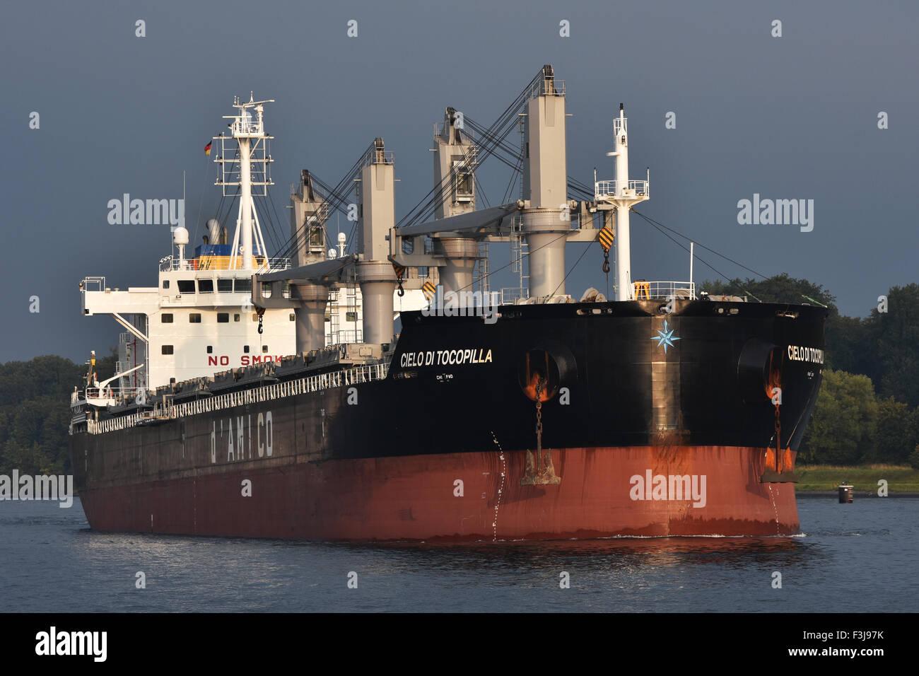 Handysize bulkcarrier Cielo di Tocopilla Immagini Stock