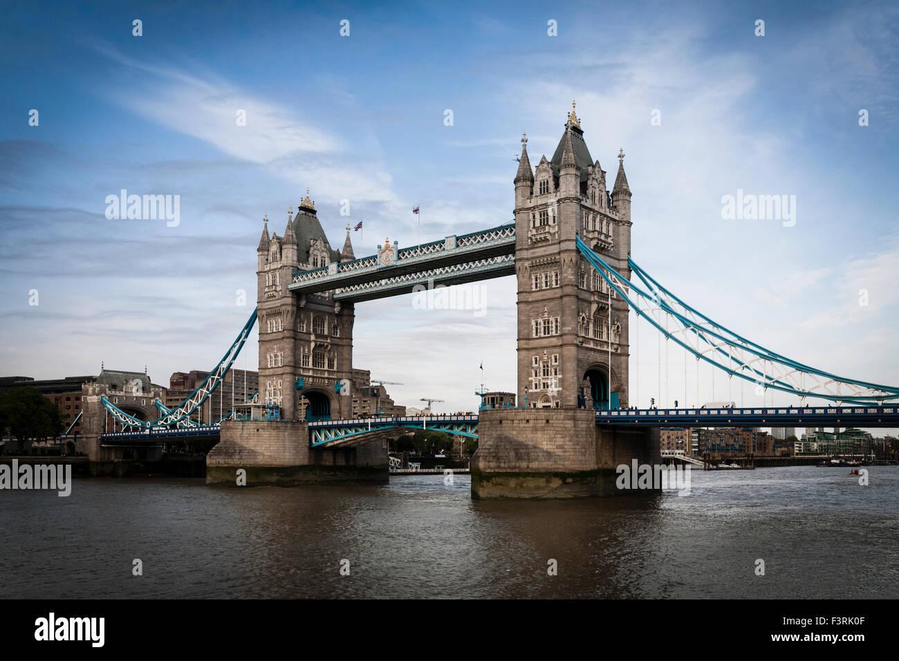 Il Tower Bridge, London, Regno Unito Immagini Stock
