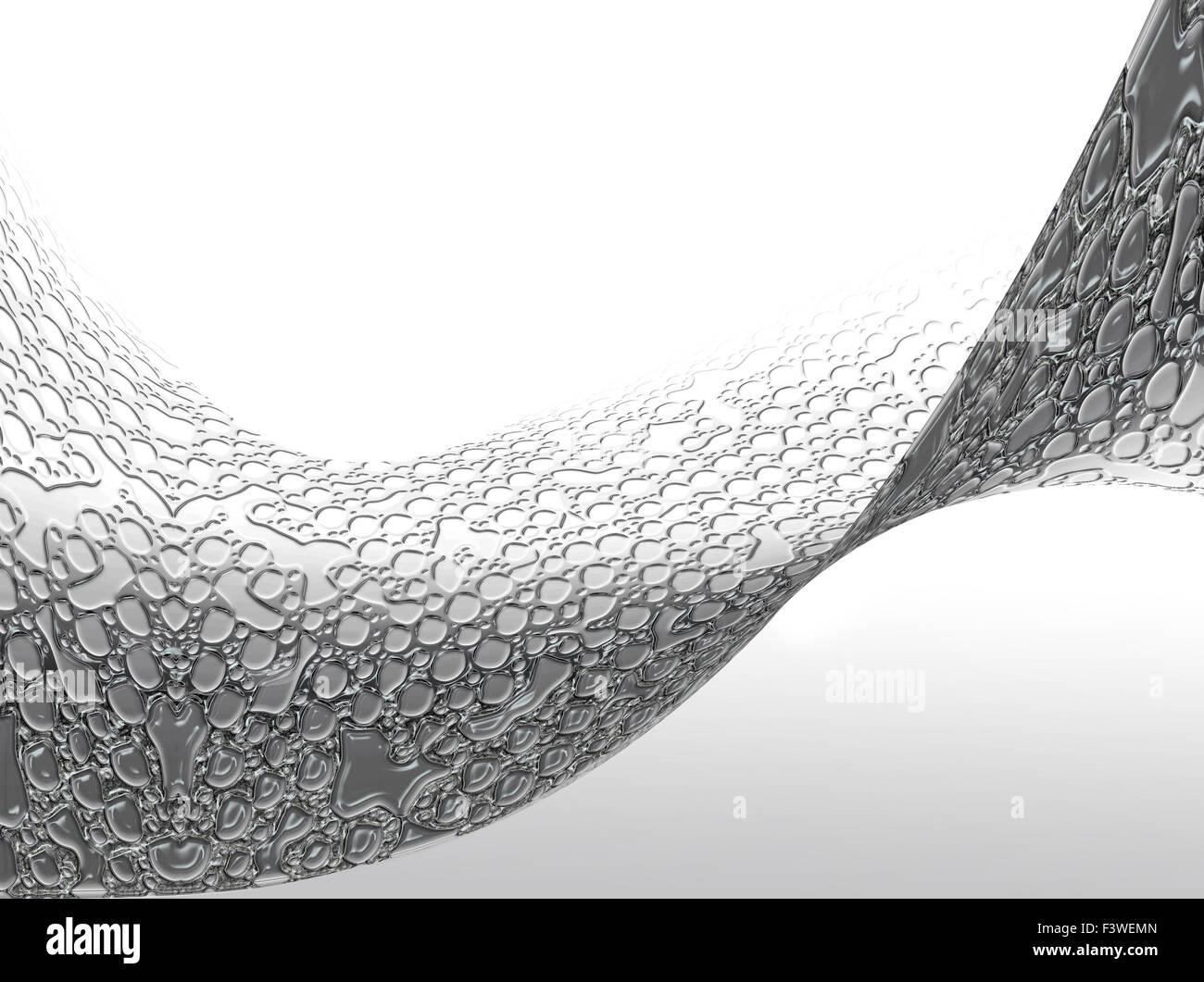 Dynamic sfondo ondulato Immagini Stock