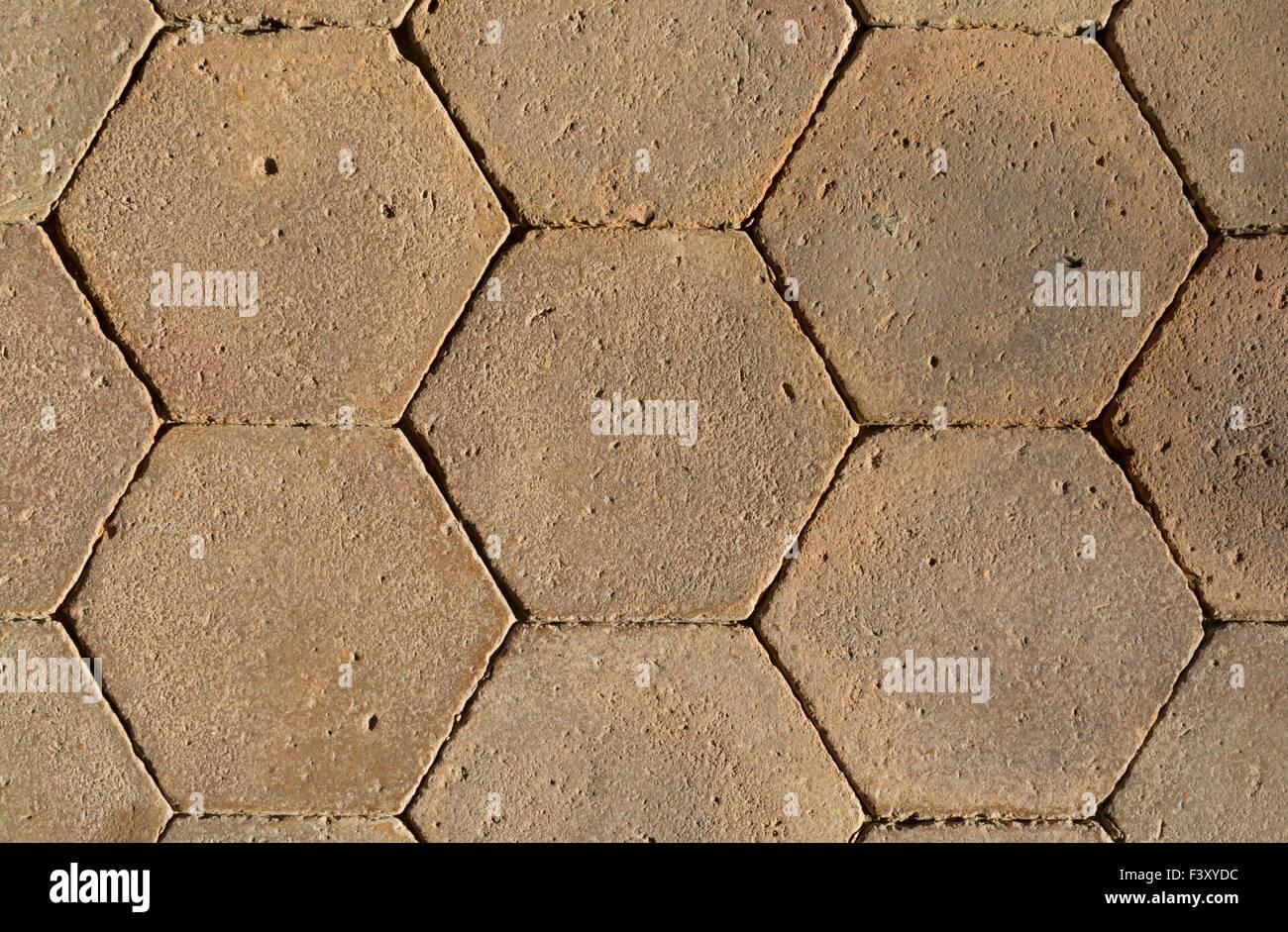 Piastrelle A Nido Dape : Primo piano dello schema a nido d ape piastrelle foto immagine