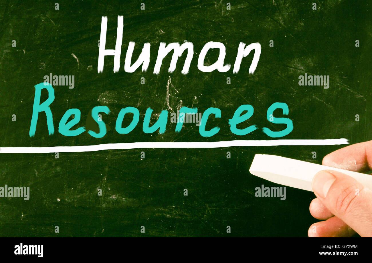 Risorse umane concept Foto Stock