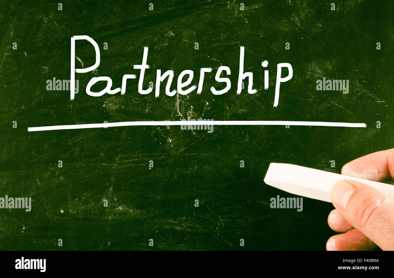 Il concetto di partenariato Immagini Stock