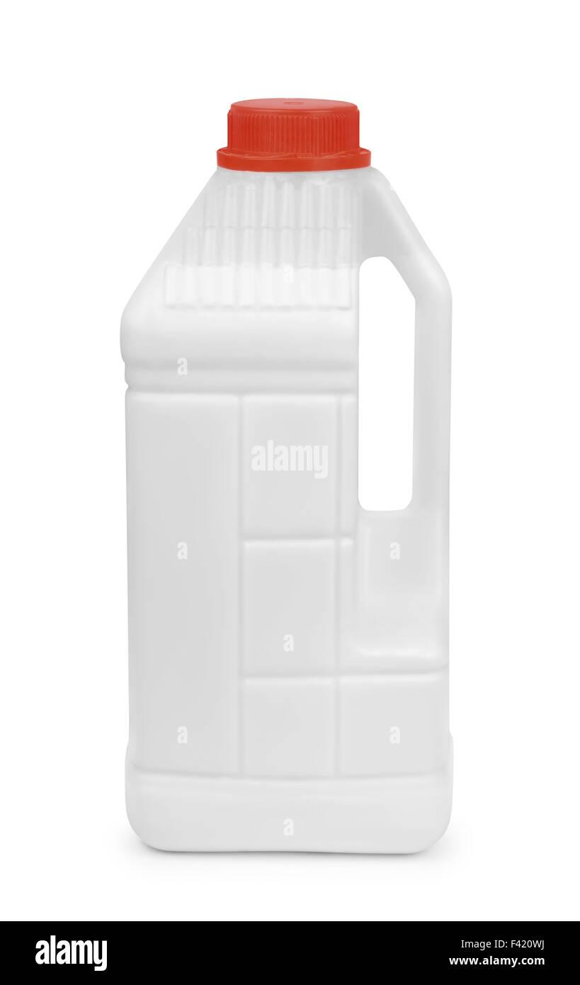 Primer acrilico barattolo di rivestimento isolato su bianco Immagini Stock