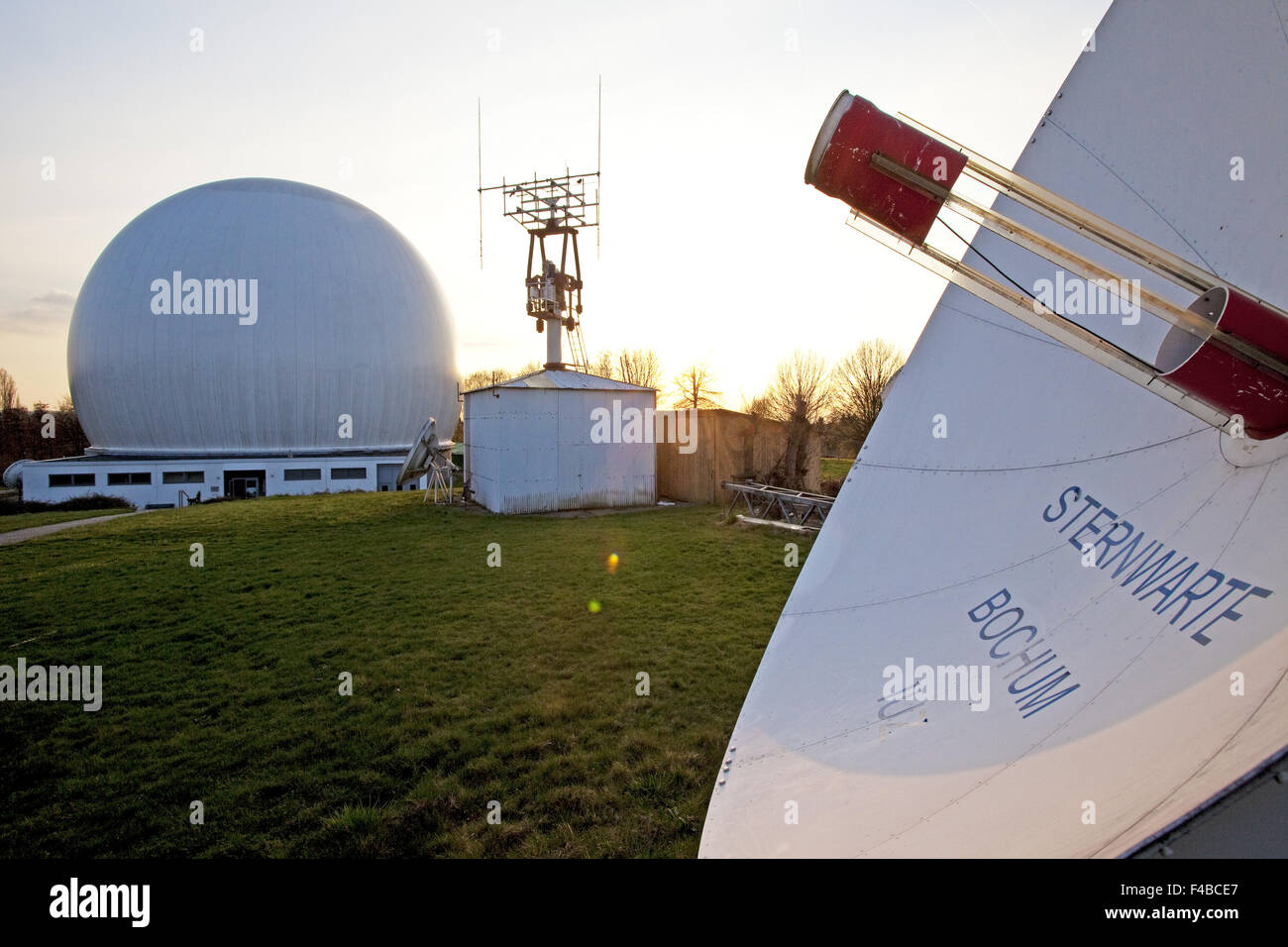 Egli osservatorio di Bochum, Germania. Immagini Stock