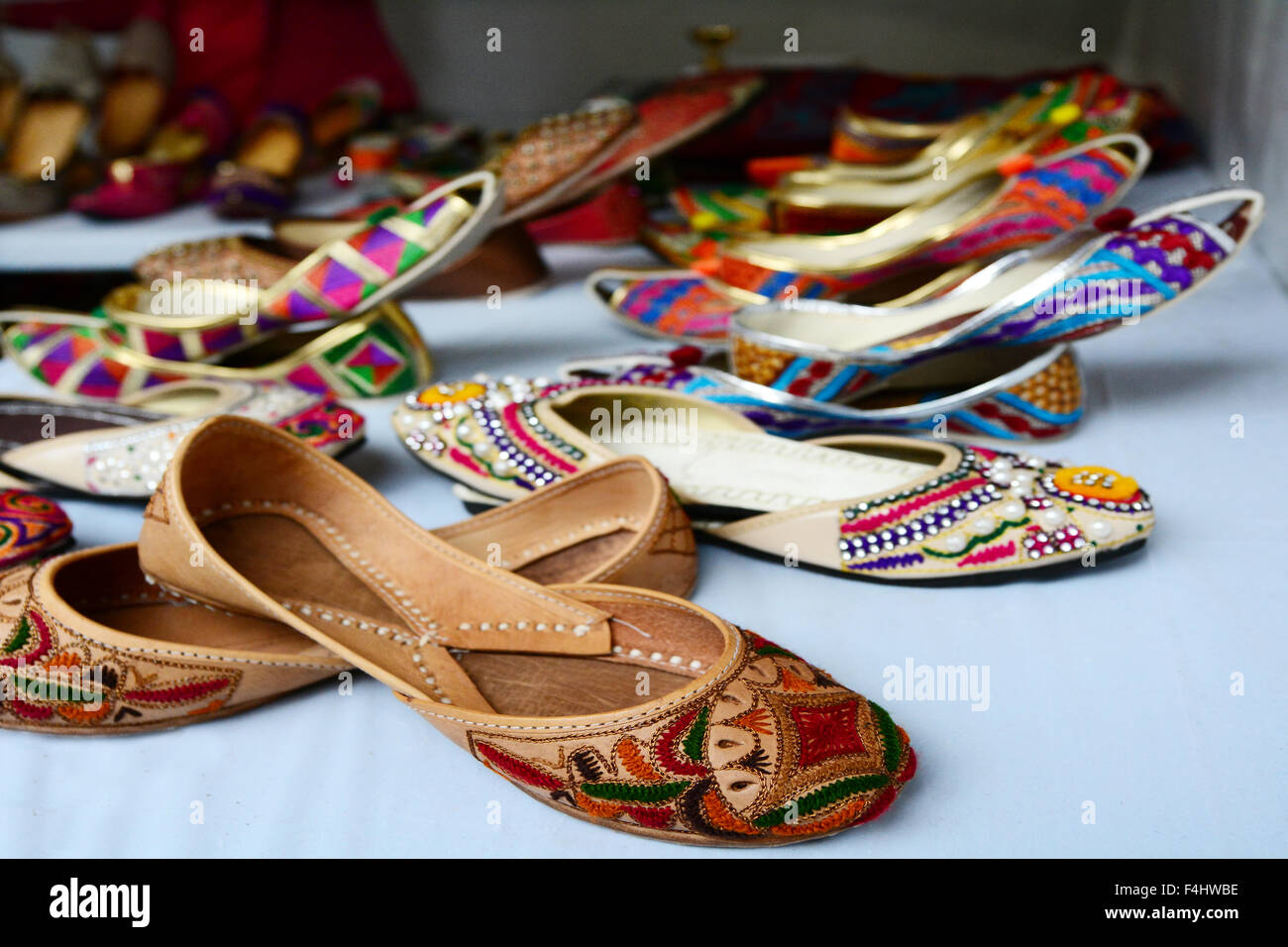 Indian Footwear Immagini & Indian Footwear Fotos Stock Alamy