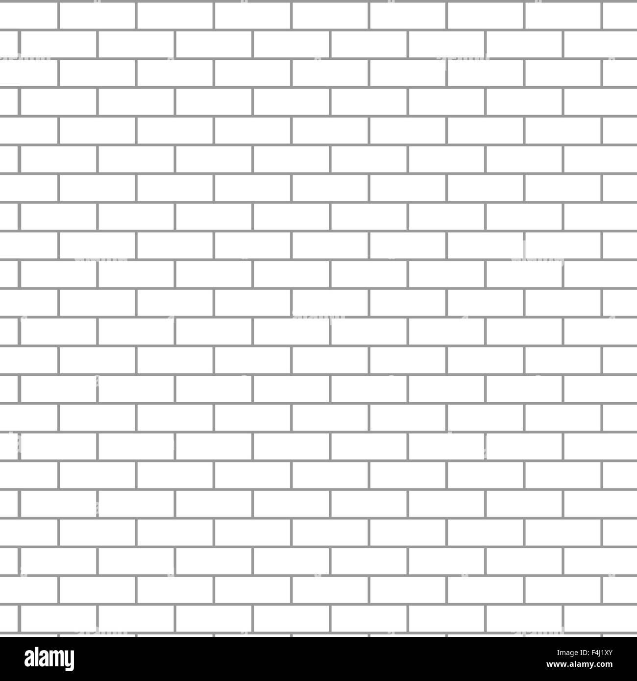 Mattoni Bianchi Per Esterni senza soluzione di continuità la parete in mattoni bianchi