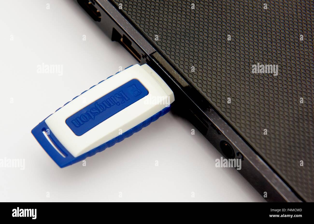 Un computer USB memory stick Immagini Stock