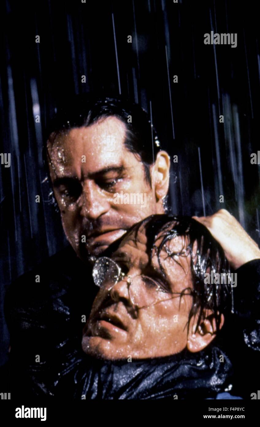 Robert de Niro, Nick Nolte / Cape Fear 1991 diretto da Martin Scorsese Immagini Stock