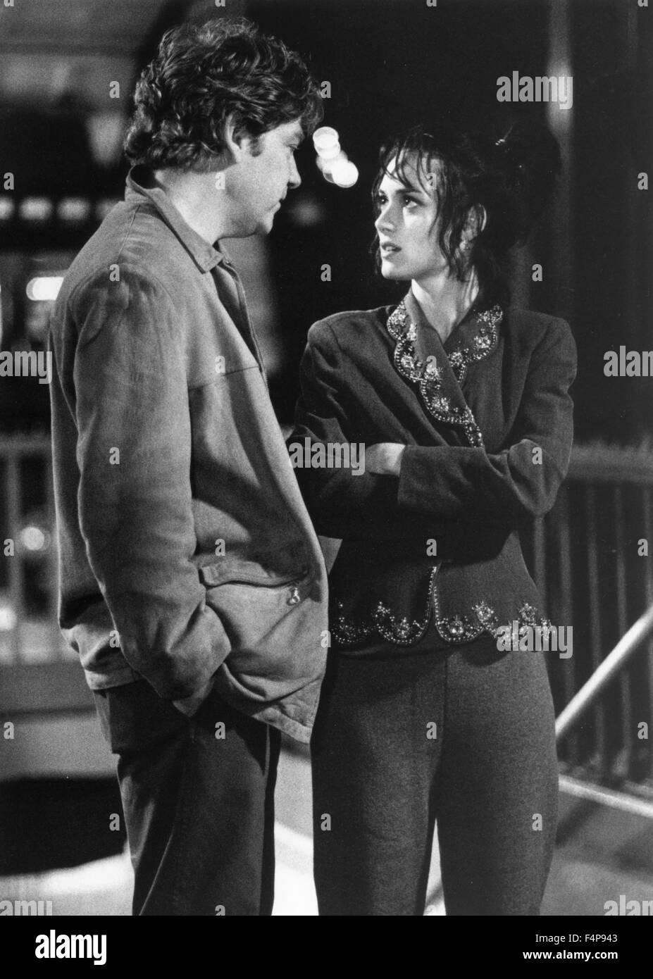 Kenneth Branagh, Winona Ryder / Celebrità 1998 diretto da Woody Allen Immagini Stock