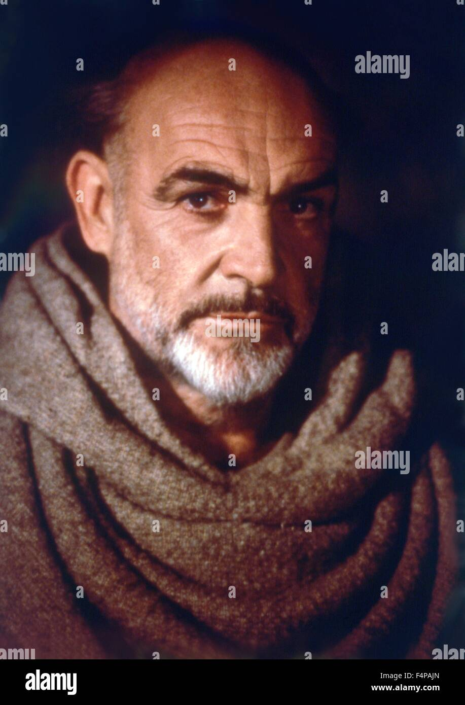 Sean Connery / Der Name der Rose 1986 diretto da Jean-Jacques Annaud Immagini Stock