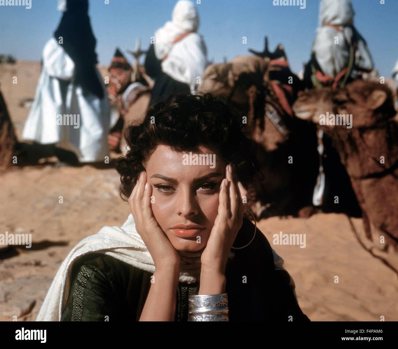 Sophia Loren / leggenda del perso 1957 diretto da Henry Hathaway Immagini Stock
