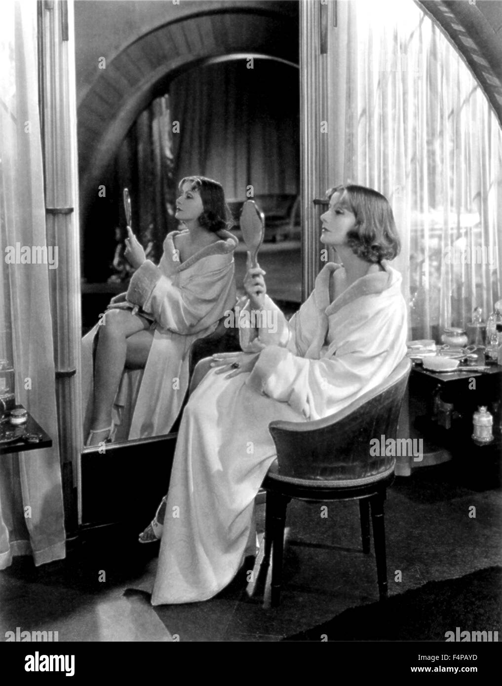 Greta Garbo / Mata Hari 1931 diretto da George Fitzmaurice Immagini Stock