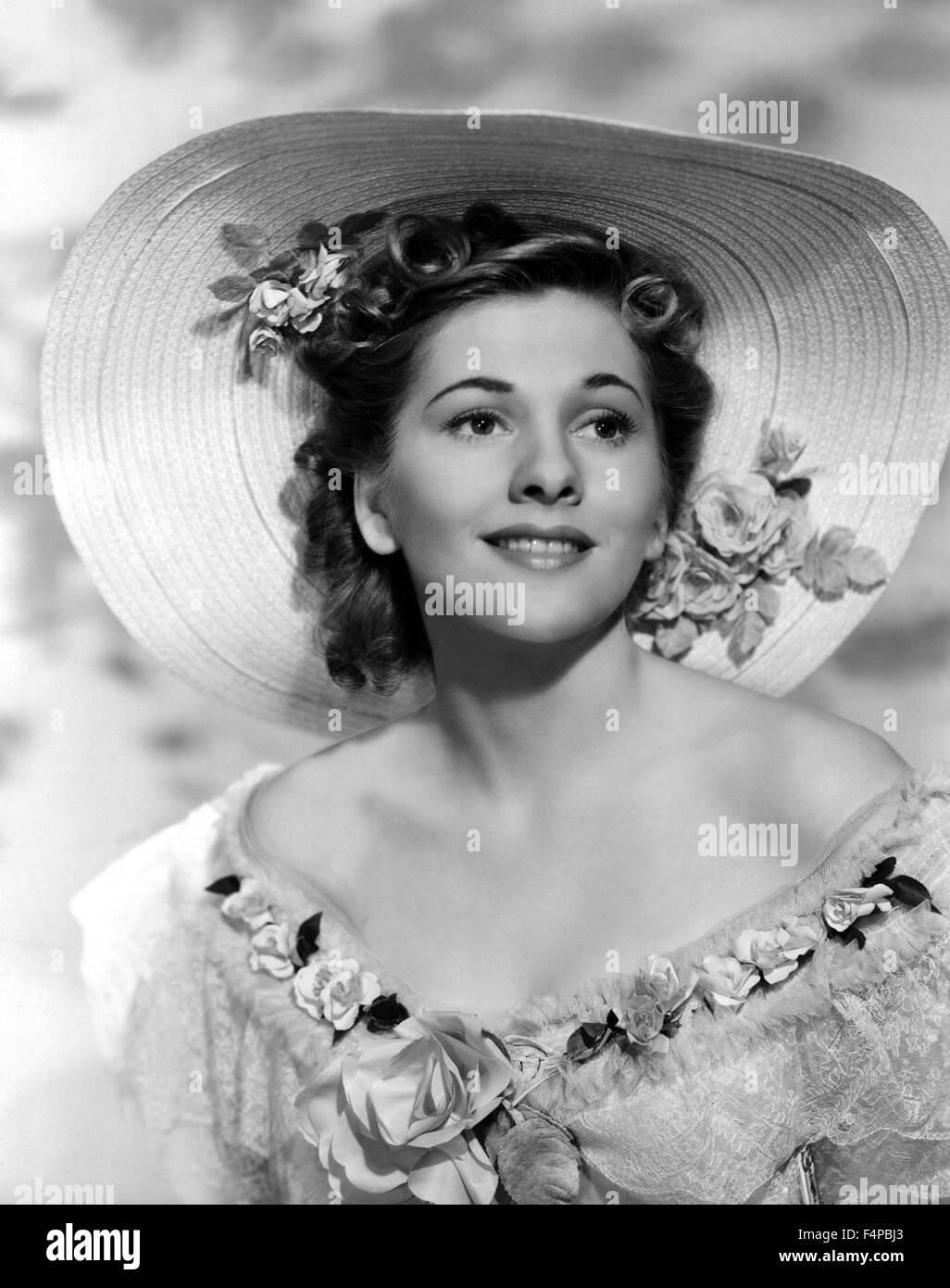 Joan Fontaine / Rebecca 1940 diretto da Alfred Hitchcock Immagini Stock