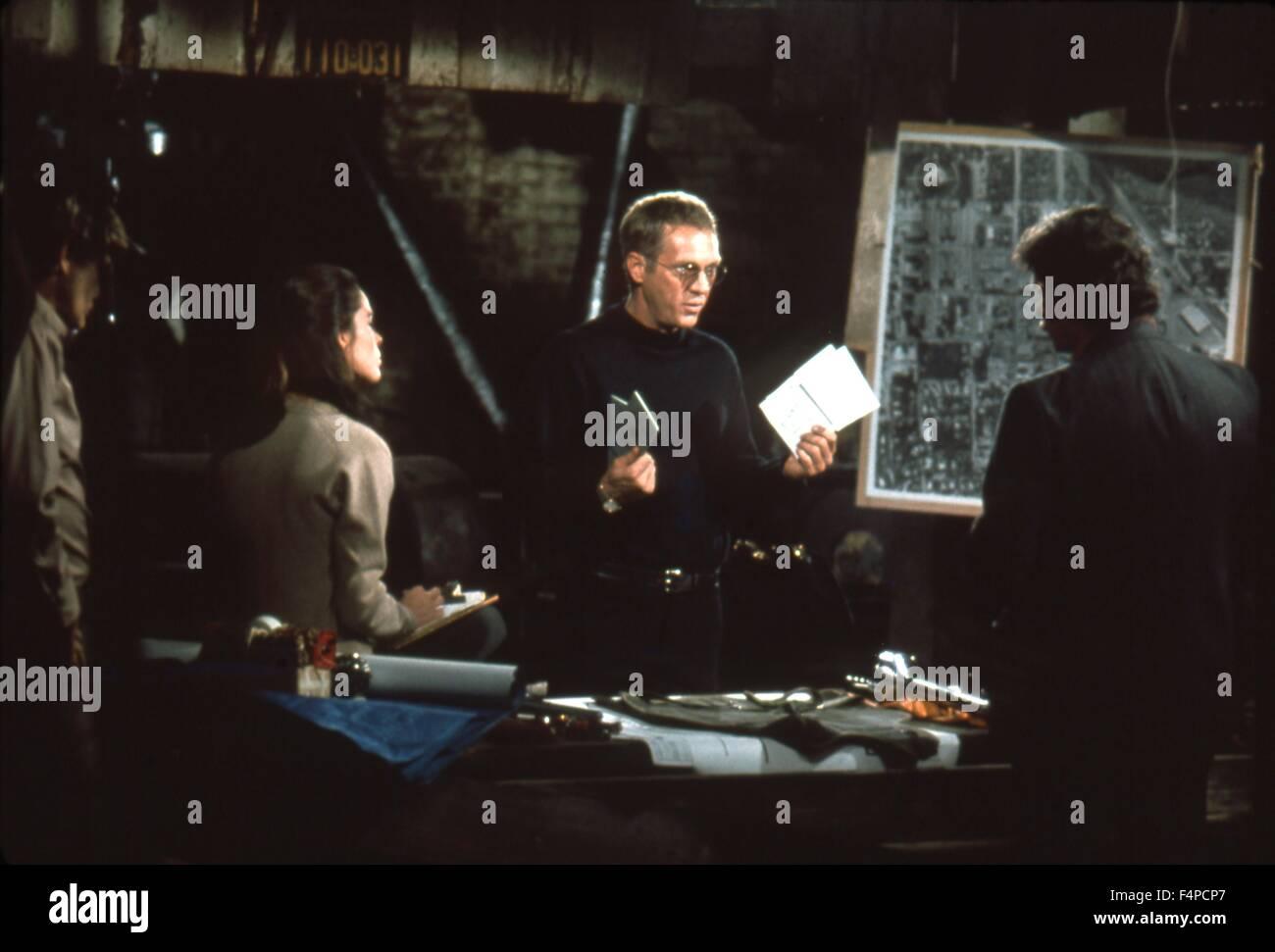 Ali Mac Graw, Steve McQueen / The Getaway 1972 diretto da Sam Peckinpah Immagini Stock