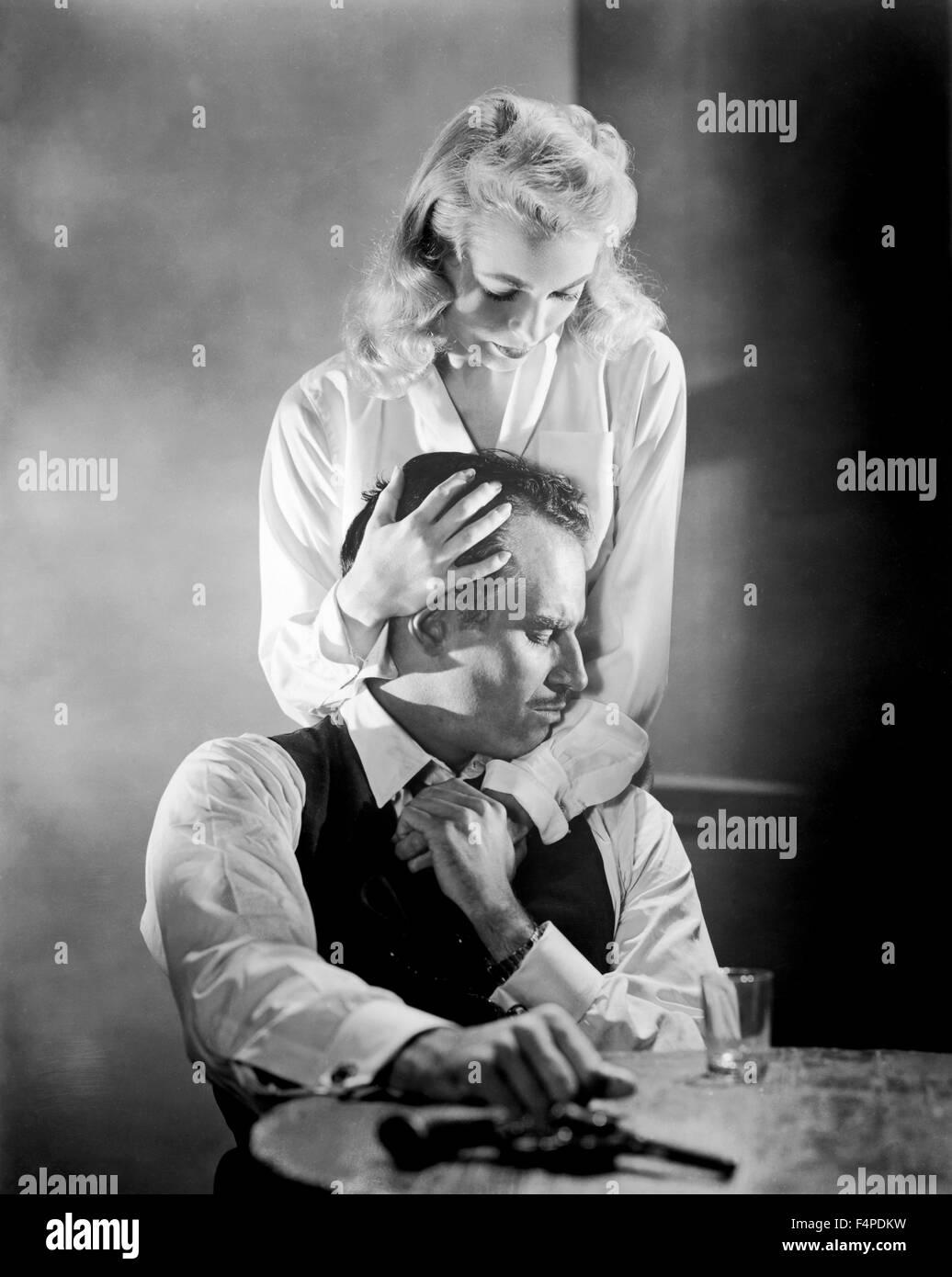 Charlton Heston, Janet Leigh / Touch del male 1958 diretto da Orson Welles Immagini Stock