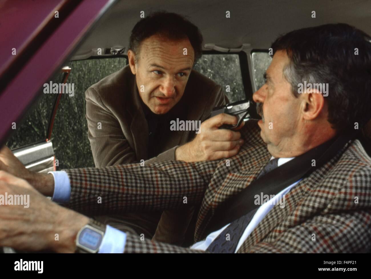 Il Gene Hackman / Obiettivo / 1985 regia di Arthur Penn Immagini Stock