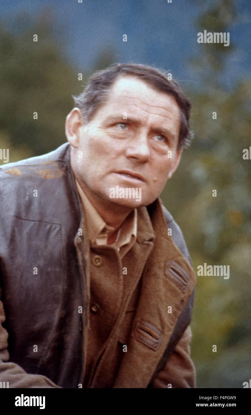 Robert Shaw / Forza 10 da Navarone / 1978 diretto da Guy Hamilton Immagini Stock