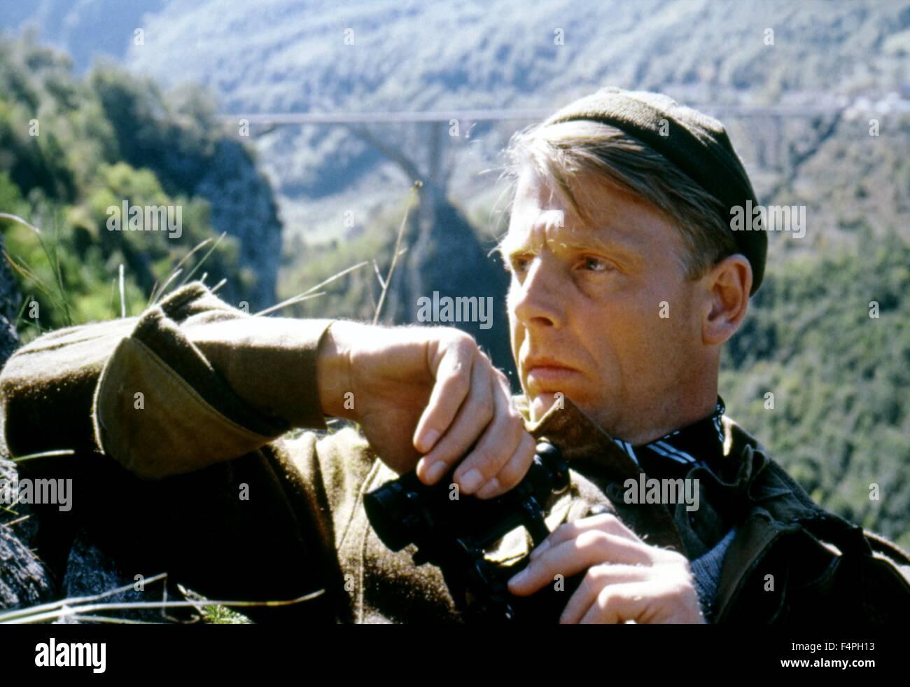 Edward Fox / Forza 10 da Navarone / 1978 diretto da Guy Hamilton Immagini Stock
