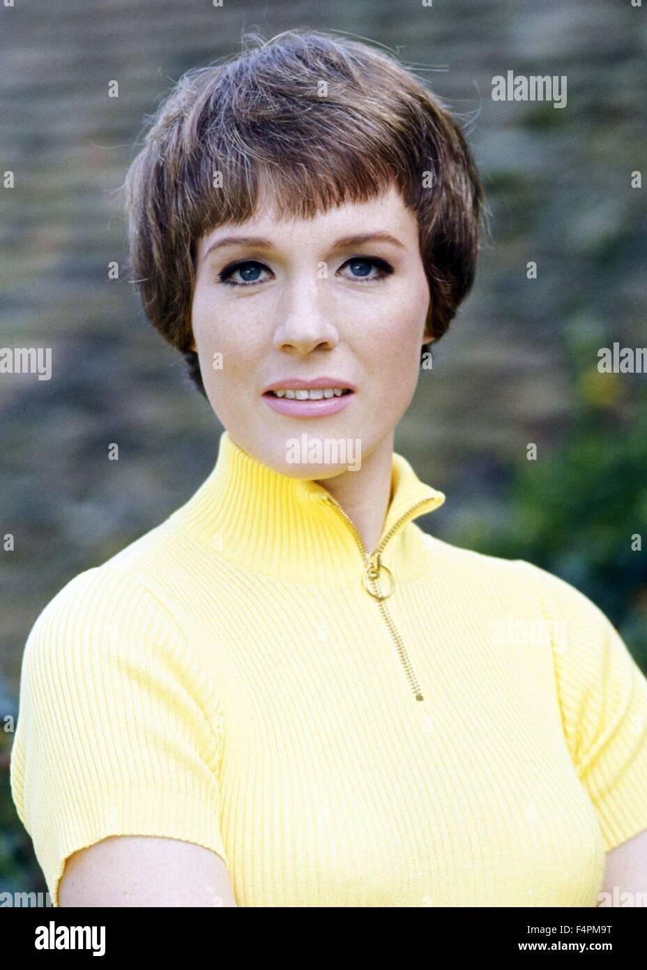 Julie Andrews negli anni settanta Immagini Stock