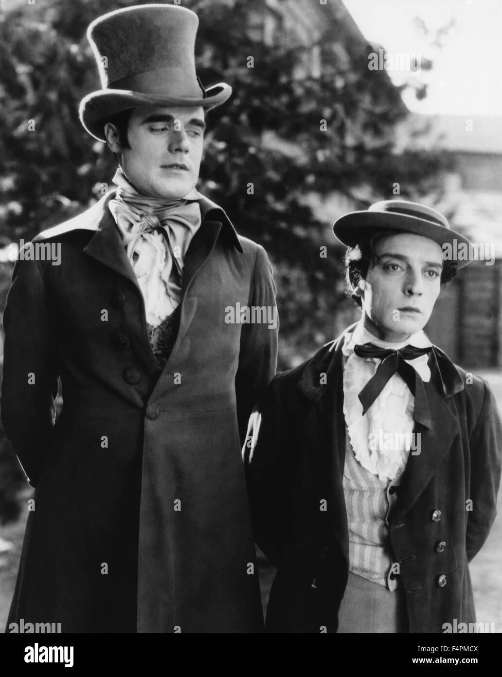 Buster Keaton / La nostra ospitalità / 1923 diretto da Buster Keaton e John G. Blystone [Metro Pictures] Immagini Stock