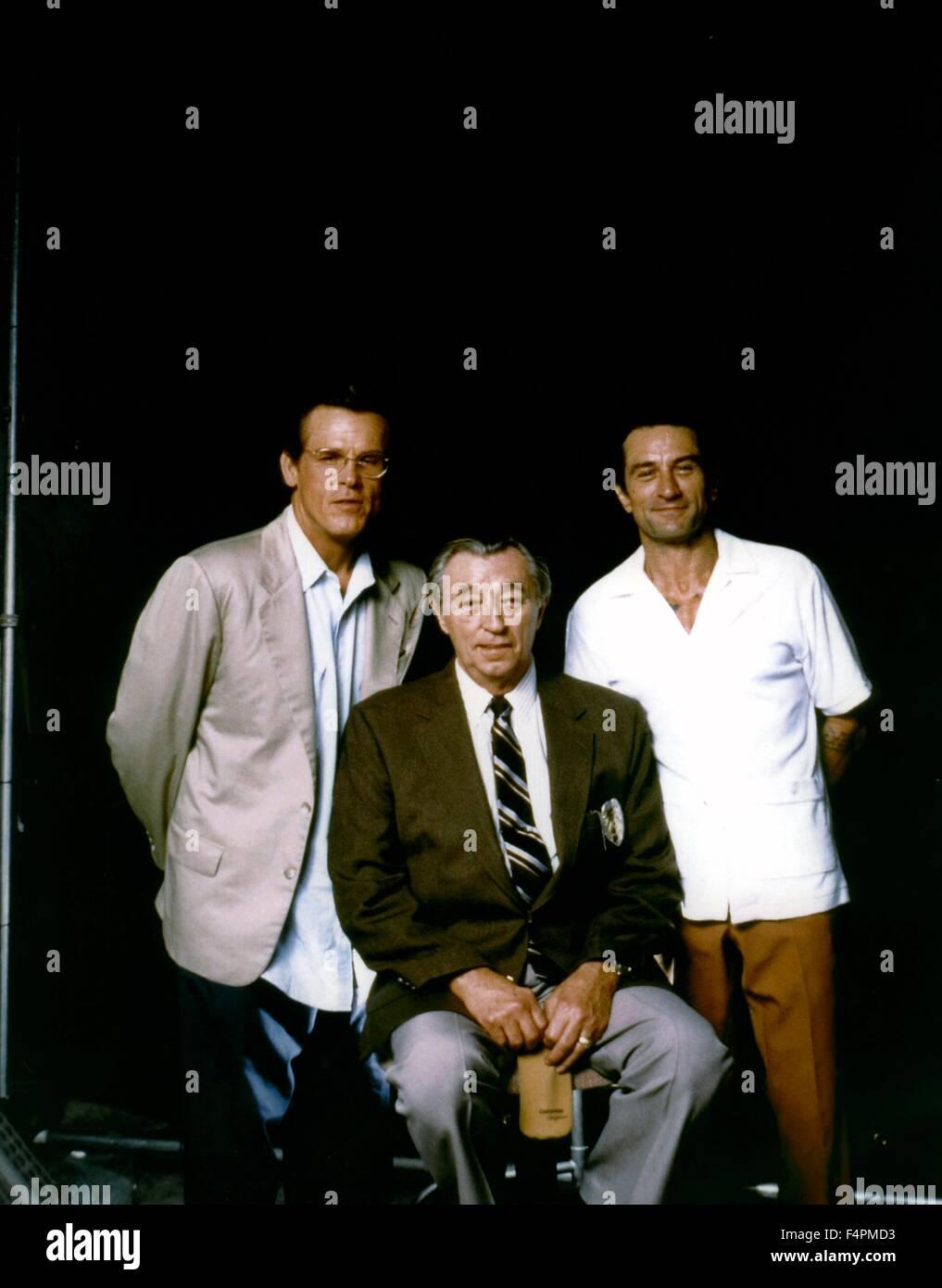 Nick Nolte, Robert Mitchum e Robert de Niro / Cape Fear / 1991 diretto da Martin Scorsese [Universal Pictures] Immagini Stock
